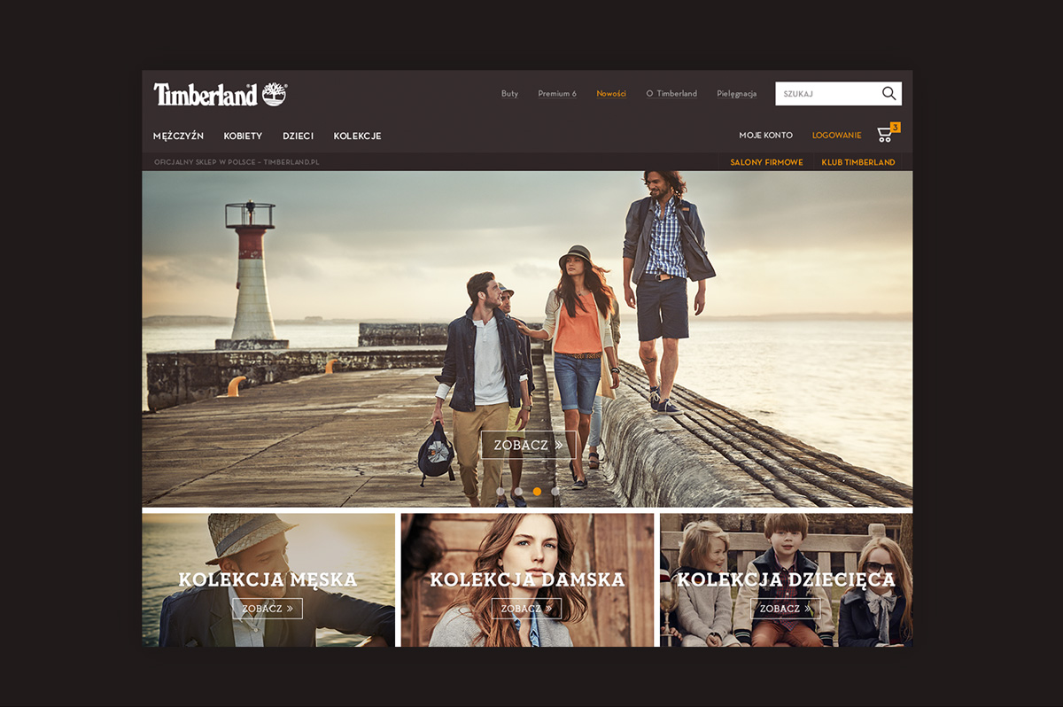 TIMBERLAND | website